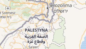 Bethlehem - szczegółowa mapa Google