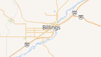 Billings - szczegółowa mapa Google