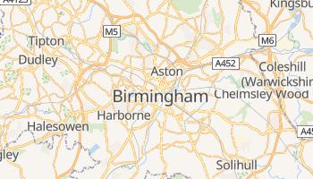 Birmingham (UK) - szczegółowa mapa Google