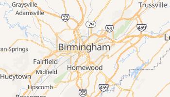 Birmingham (USA) - szczegółowa mapa Google