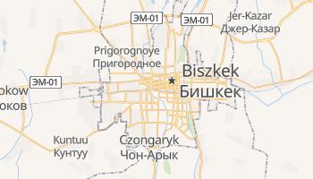 Biszkek - szczegółowa mapa Google