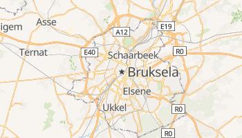 Bruksela - szczegółowa mapa Google