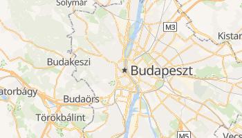 Budapeszt - szczegółowa mapa Google