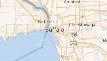 Buffalo - szczegółowa mapa Google
