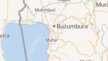 Bużumbura - szczegółowa mapa Google