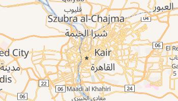 Kair - szczegółowa mapa Google