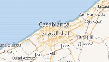 Casablanca - szczegółowa mapa Google