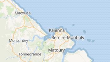 Cayenne - szczegółowa mapa Google