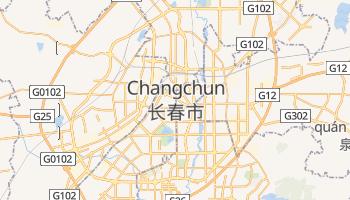 Changchun - szczegółowa mapa Google