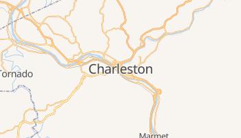 Charleston - szczegółowa mapa Google