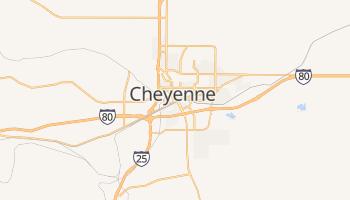 Cheyenne - szczegółowa mapa Google