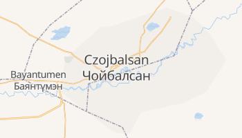 Czoibalsan - szczegółowa mapa Google