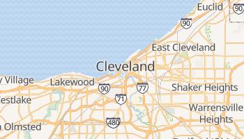 Cleveland - szczegółowa mapa Google