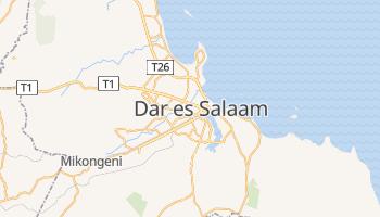 Dar es Salaam - szczegółowa mapa Google