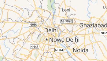 Delhi - szczegółowa mapa Google