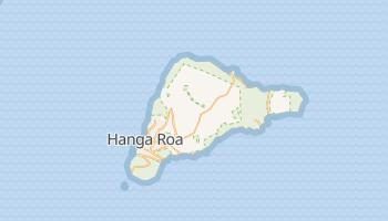 Wyspa Wielkanocna - szczegółowa mapa Google