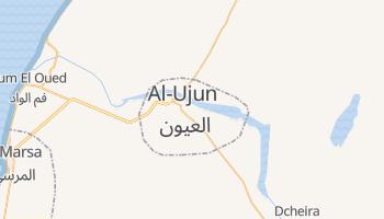 Al-Ujun - szczegółowa mapa Google