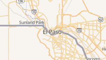 El Paso - szczegółowa mapa Google