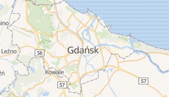 Gdańsk - szczegółowa mapa Google