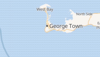 George Town (KY) - szczegółowa mapa Google