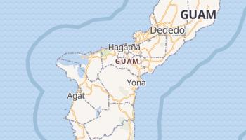 Guam - szczegółowa mapa Google