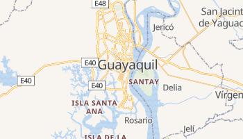 Guayaquil - szczegółowa mapa Google