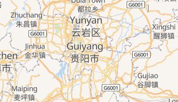 Guiyang - szczegółowa mapa Google