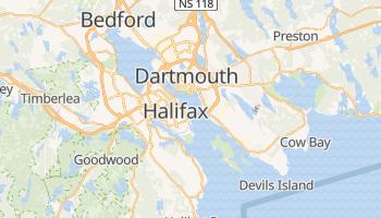 Halifax - szczegółowa mapa Google