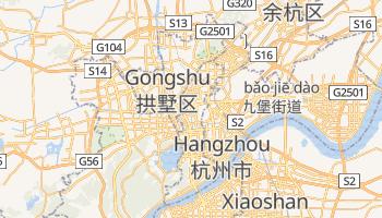 Hangzhou - szczegółowa mapa Google