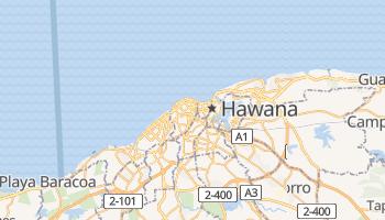Hawana - szczegółowa mapa Google
