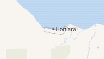 Honiara - szczegółowa mapa Google