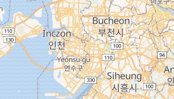 Inch'ŏn - szczegółowa mapa Google