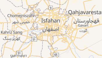 Isfahan - szczegółowa mapa Google