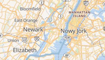 Jersey City - szczegółowa mapa Google
