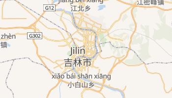 Jilin - szczegółowa mapa Google
