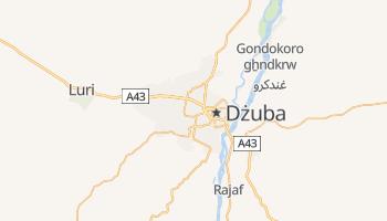 Dżuba - szczegółowa mapa Google