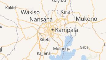 Kampala - szczegółowa mapa Google