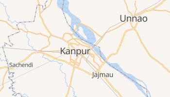 Kanpur - szczegółowa mapa Google