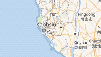 Kaosiung - szczegółowa mapa Google