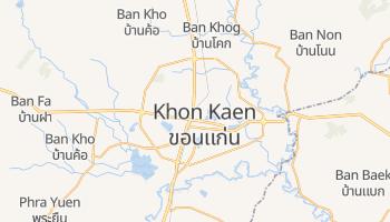 Khon Kaen - szczegółowa mapa Google