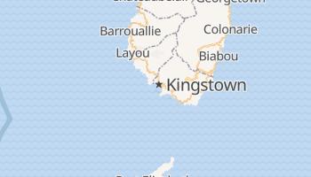 Kingstown - szczegółowa mapa Google