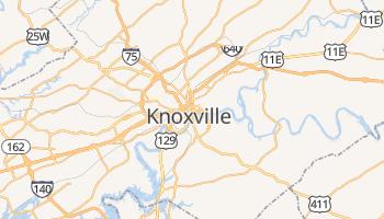 Knoxville - szczegółowa mapa Google