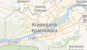 Krasnoyarsk - szczegółowa mapa Google