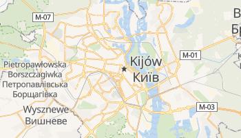 Kijów - szczegółowa mapa Google