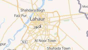 Lahaur - szczegółowa mapa Google