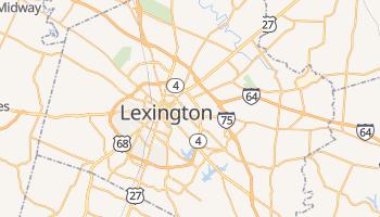 Lexington - szczegółowa mapa Google