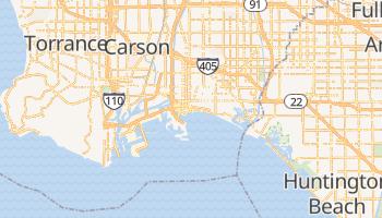 Long Beach - szczegółowa mapa Google