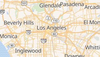 Los Angeles - szczegółowa mapa Google