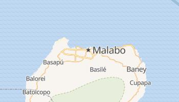 Malabo - szczegółowa mapa Google