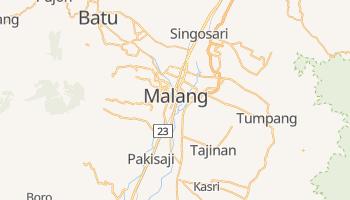 Malang - szczegółowa mapa Google